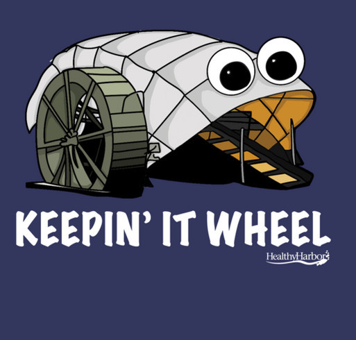 Mr. Trash Wheel T-Shirt: Keepin' it Wheel shirt design - zoomed