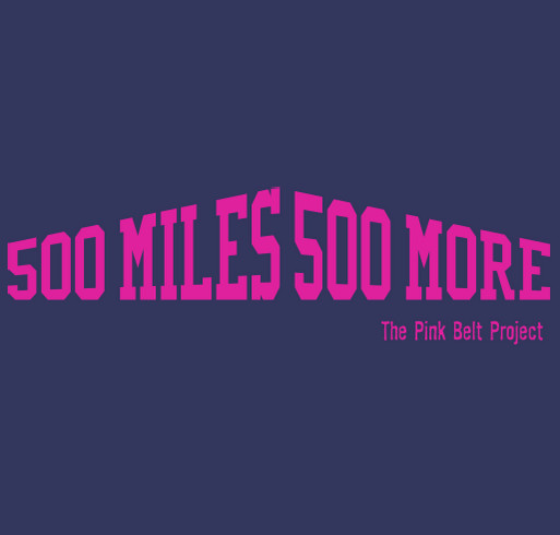 You're Gonna Walk 500 Miles... shirt design - zoomed