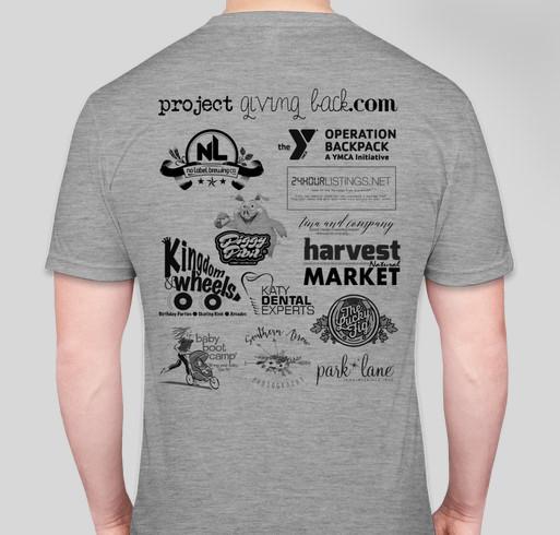 Skate Night for a Cause Fundraiser T-Shirt Fundraiser - unisex shirt design - back
