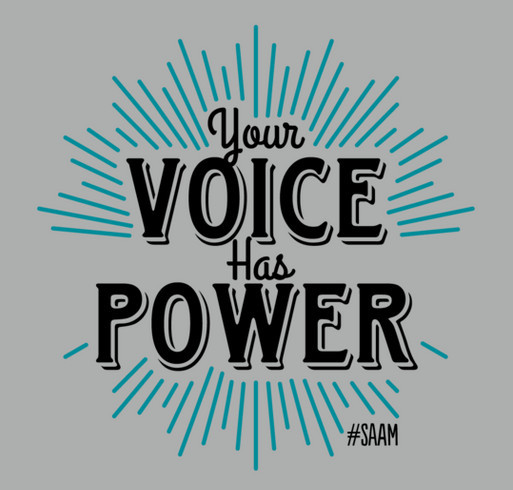 Your Voice Has Power Shirt shirt design - zoomed