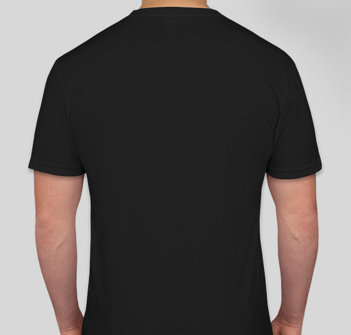 Would you like to buy an awesome shirt? Fundraiser - unisex shirt design - back
