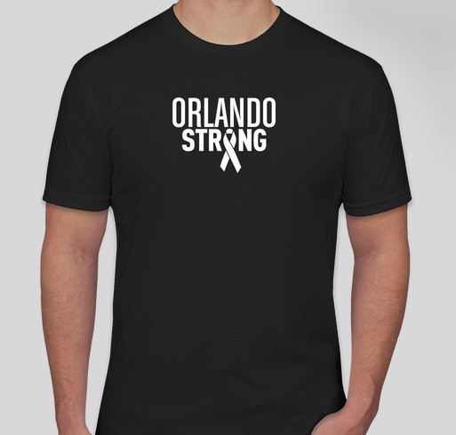 Orlando Strong Fundraiser - unisex shirt design - front
