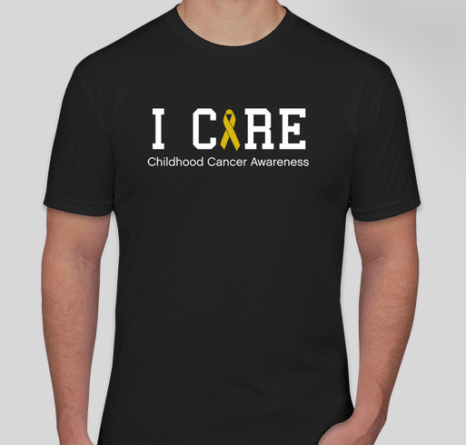 Who Cares - Childhood Cancer Awareness Fundraiser - unisex shirt design - front