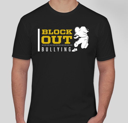 Unite Against Bullying with Dennis Pitta Fundraiser - unisex shirt design - front
