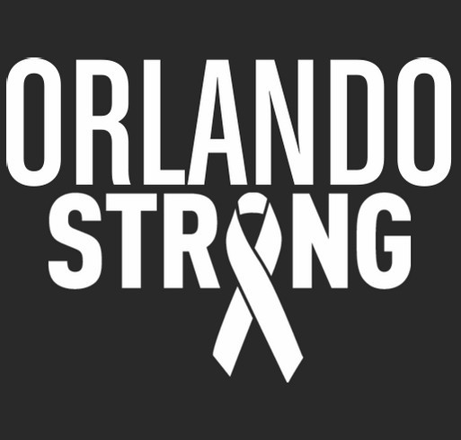 Orlando Strong shirt design - zoomed