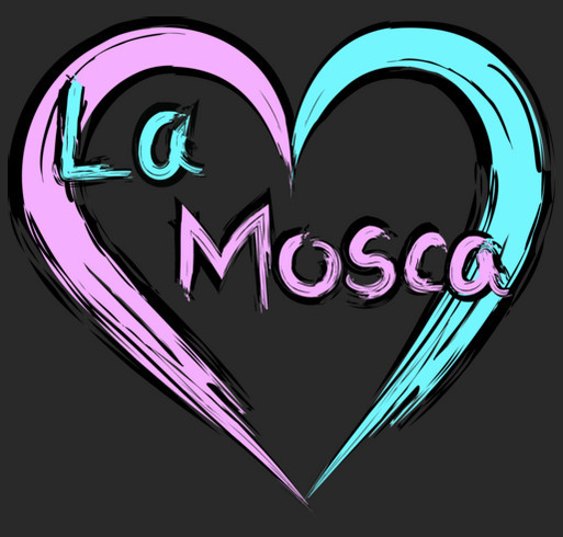 Paint Love in La Mosca shirt design - zoomed