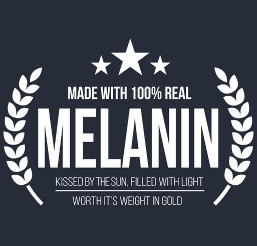 made with Melanin Custom Ink Fundraising
