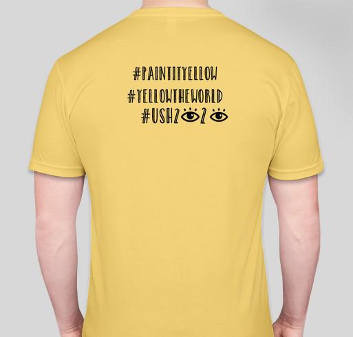 Paint it Yellow Fundraiser - unisex shirt design - back