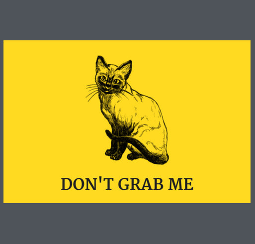 Don't Grab Me shirt design - zoomed
