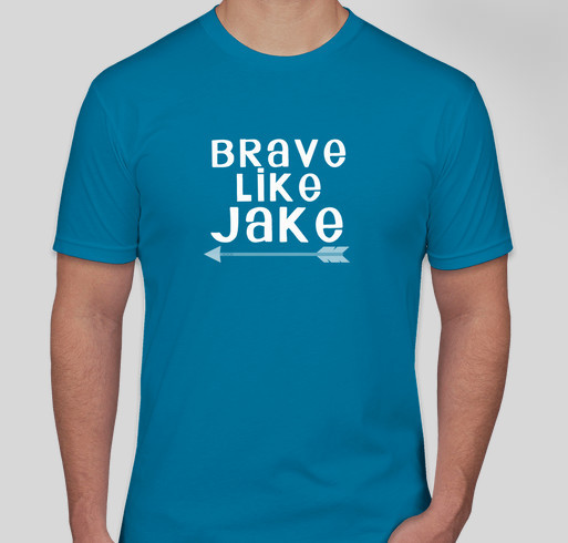 T-shirts for Jake Fundraiser - unisex shirt design - front