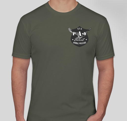 USA PAW Disaster Relief Official Shirt Fundraiser - unisex shirt design - front