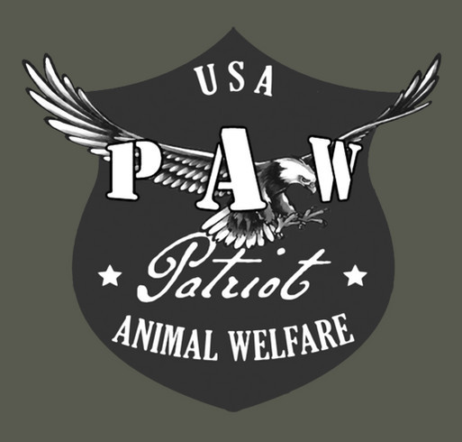 USA PAW Disaster Relief Official Shirt shirt design - zoomed