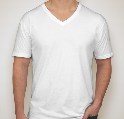 Next Level Jersey V-Neck T-shirt - White