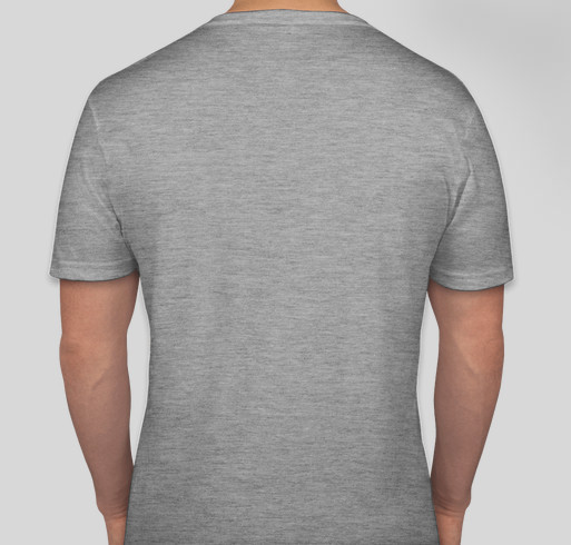 Are you an Emotional Support Human? Fundraiser - unisex shirt design - back