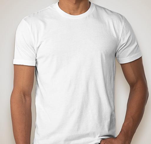 Next Level 60/40 T-shirt - White