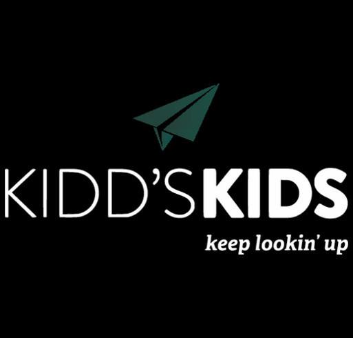 Kidd's Kids shirt design - zoomed