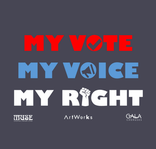 Declare Your Right to Vote in 2020! shirt design - zoomed