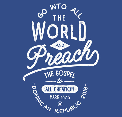 Dominican Republic Missions Trip shirt design - zoomed
