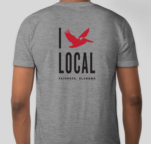 Drink Local and Support Local with Fairhope Brewing Fundraiser - unisex shirt design - front