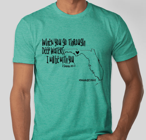 aa99f4a21  Panhandlestrong Fundraising for those affected by Hurricane Michael  Fundraiser - unisex shirt design - front