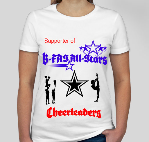 B-FAS All-Stars start up fundraiser Fundraiser - unisex shirt design - front
