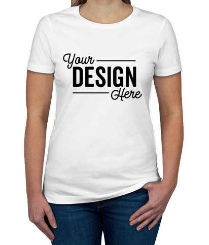 Next Level Women's Slim Fit Jersey T-shirt - White