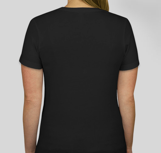 Who Cares - Childhood Cancer Awareness Fundraiser - unisex shirt design - back