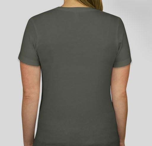 MA 2021 VIRTUAL SERENITY T-SHIRT FUNDRAISER - 2nd Run of new colors! Fundraiser - unisex shirt design - back