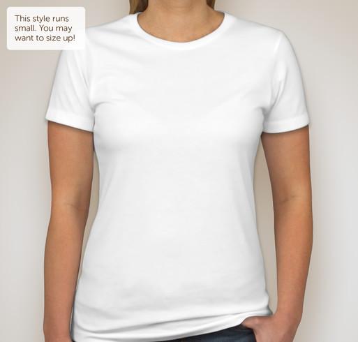 Next Level Juniors 60/40 T-shirt - White