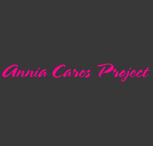 Annia Cares Project shirt design - zoomed