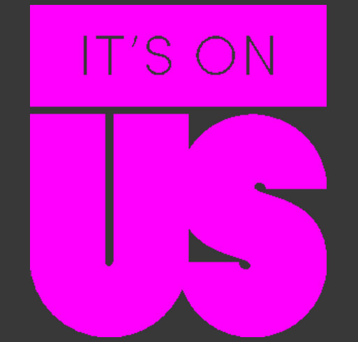 It's On Us shirt design - zoomed