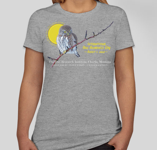 International Owl Awareness Day 2020 Fundraiser - unisex shirt design - small