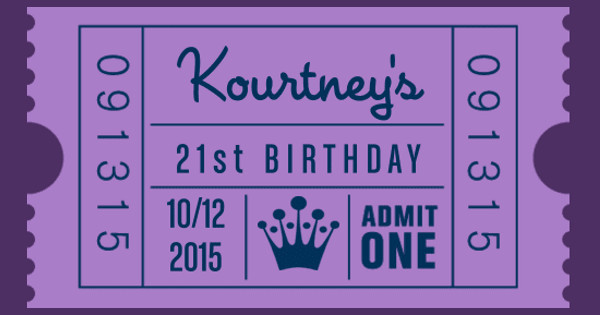 Kourtney's 21st