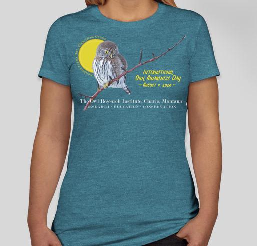 International Owl Awareness Day 2020 Fundraiser - unisex shirt design - front