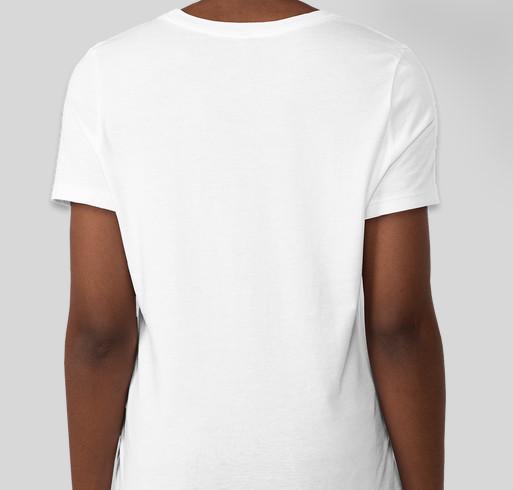 Camp Jamison's 2021 Tshirt Campaign Fundraiser - unisex shirt design - back