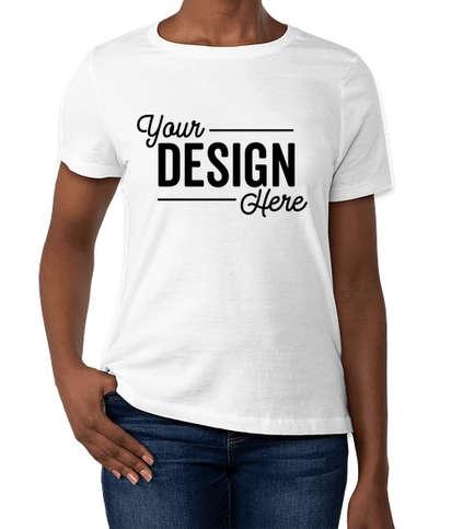 Bella + Canvas Women's Jersey T-shirt - White