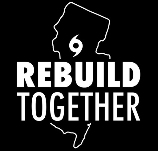 Hurricane IDA Relief shirt design - zoomed