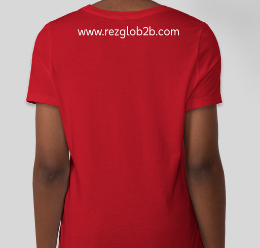 Helping our Partners is one way of supporting small businesses. Fundraiser - unisex shirt design - back