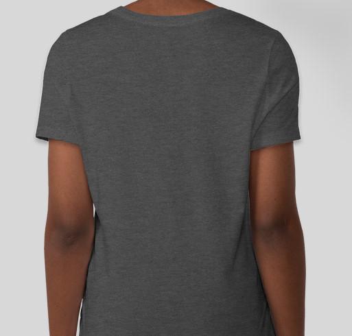 Hurdles of Hope Fundraiser - unisex shirt design - back