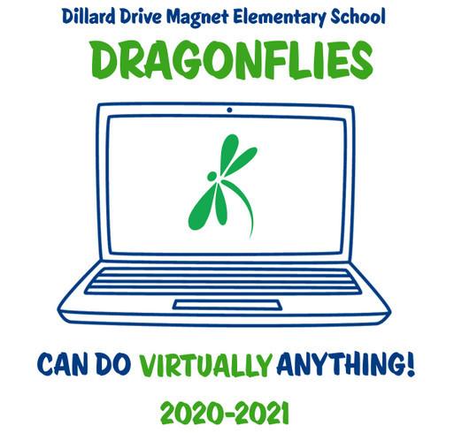 Dillard Drive Elementary School Fundraiser shirt design - zoomed