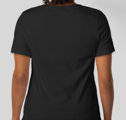 What Makes You Feel Beautiful- Females Are Fabulous Collection Fundraiser - unisex shirt design - back