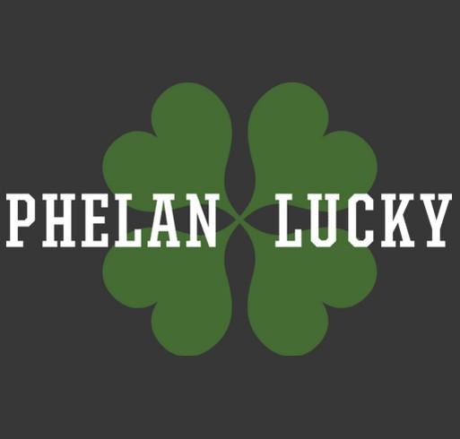 Phelan Lucky 2017 shirt design - zoomed