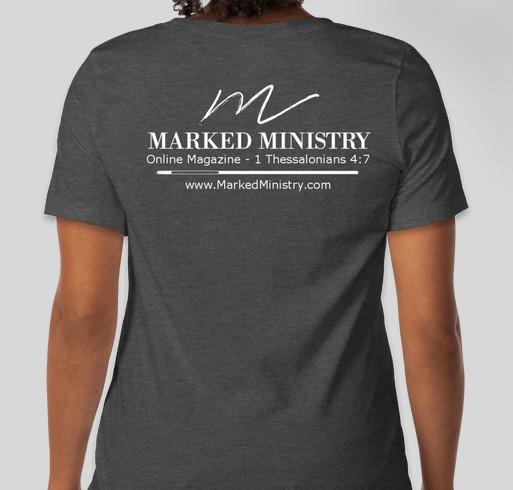 Marked Ministry Goes Non-Profit Fundraiser Fundraiser - unisex shirt design - back