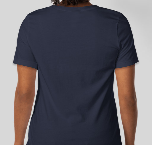 The Telomere Project Thrive Tribe Fundraiser - unisex shirt design - back