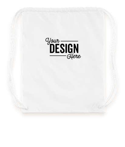 Basic Drawstring Bag - White