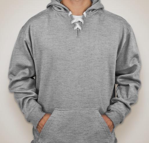J. America Hockey Hooded Sweatshirt - White