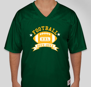 Football T-Shirt Designs - Designs For Custom Football T-Shirts ...