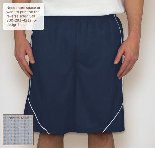 Sport-Tek Micro-Mesh Reversible Contrast Shorts - Selected Color