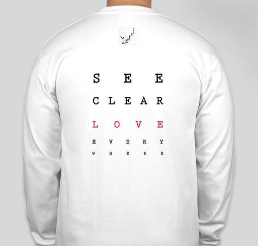 Self Defense for Native Women Fundraiser - unisex shirt design - back