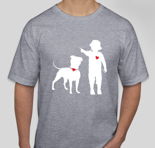 A shirt helps raise starting funds for Pawsitive Kidnections! Fundraiser - unisex shirt design - front